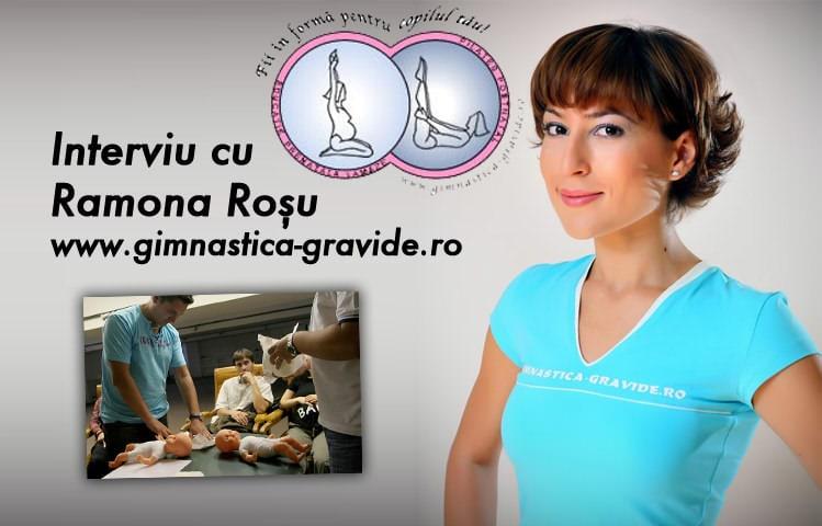 Despre Lamaze, cu Ramona Rosu
