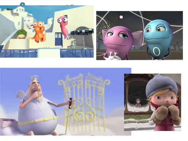 6 animaţii scurte pentru copii nerăbdători