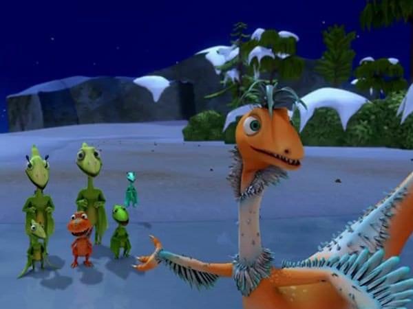 Dinozauri și bursuci în desenele animate