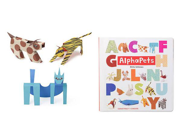 Ingeniosul abecedar origami