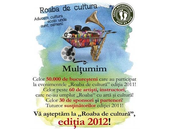 Roaba de cultură revine în București