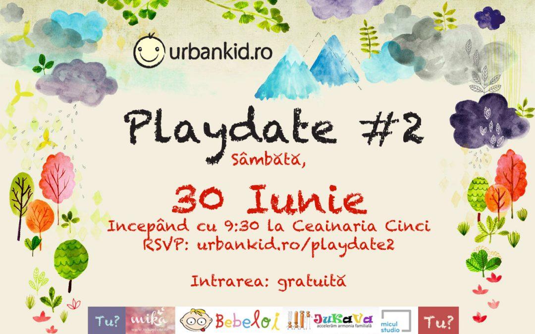 UrbanKid.ro Playdate #2: Haideți să ne jucăm împreună sâmbăta aceasta