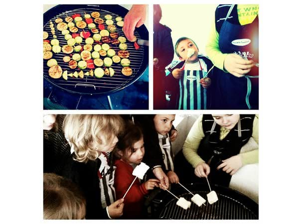 Kids in the kitchen. Week-end gourmet