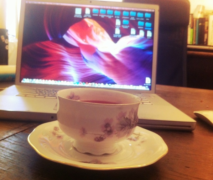 Tea time @home office