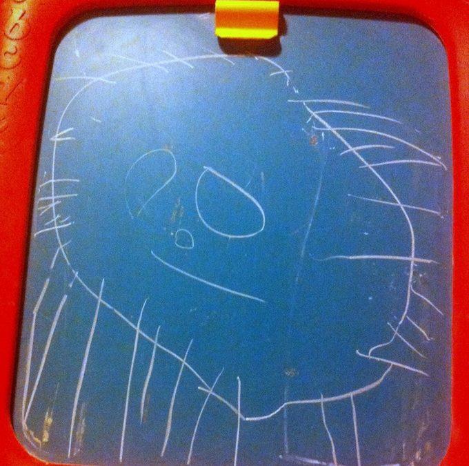 De la desene in creion la tabla de desenat [P]