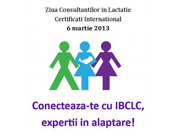 Mâine sărbătorim IBCLC Day: Ziua Consultanților în Lactație Certificați Internațional