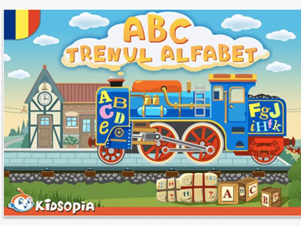 Aplicație educativă: ABC Trenul Alfabet