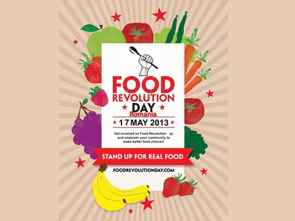 Revoluția mâncării sau Food Revolution Day