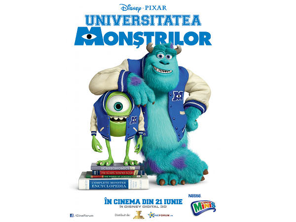 Monsters University – filmul cu monștri simpatici