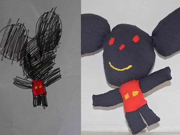 Cum transformi desenele copiilor în jucării personalizate?