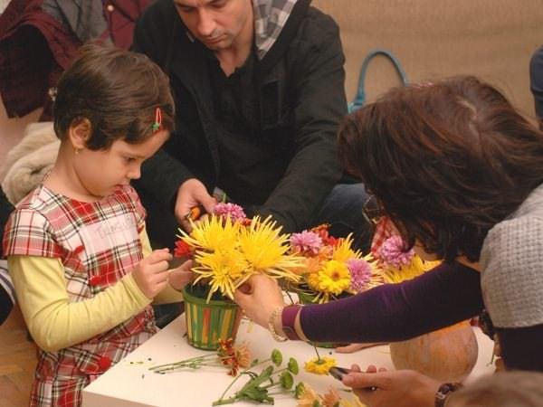 Atelier… floral pentru copii