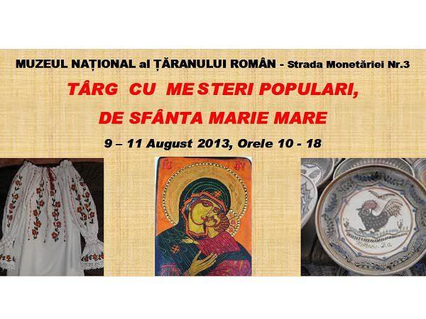 Târg de Sfânta Marie Mare, cu produse tradiționale
