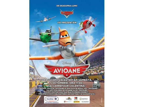 """""""Avioane"""" pentru copii, mâine, la Carrefour Colentina"""