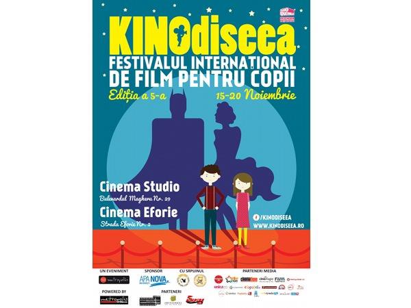 Filme pentru copii – începe KINOdiseea