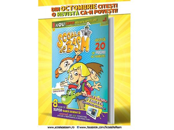 Școala de Basm – revistă pentru copiii isteți