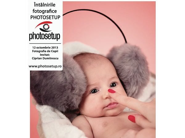 O nouă întâlnire Photosetup – Fotografia de Copii