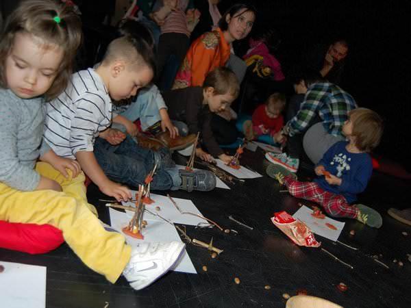 Poveștile pădurii, spuse în cadrul unui atelier pentru copii