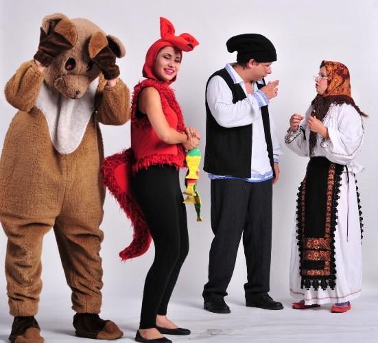 Ursul păcălit de vulpe – Teatrul Zurli