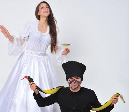 ZÂNA MĂSELUŢĂ cu Teatrul Zurli
