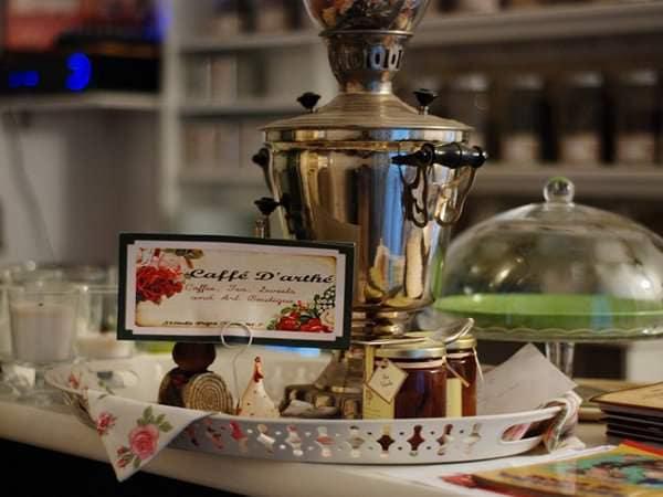 Loc de încercat pentru copii și părinți: Caffé D'arthé