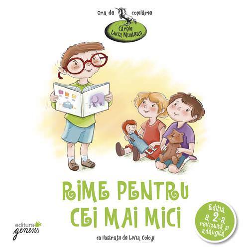"""""""Rime pentru cei mai mici"""" – Cărțile Lucia Muntean"""