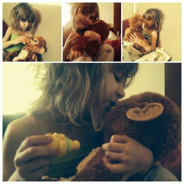 Povestea celei mai frumoase maimuțe…de jucărie
