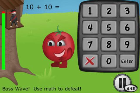 Înveți matematică în mașină – Math Ninja
