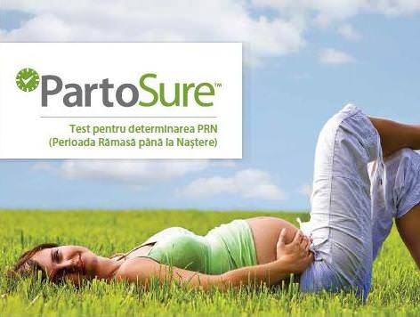 Pentru femeile însărcinate: testul PartoSure