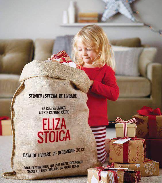 Anul acesta Moș Crăciun vine un un sac de cadouri, nu doar cu un dar [CONCURS ÎNCHEIAT]