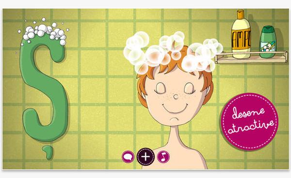 Aplicația care învață copiii alfabetul