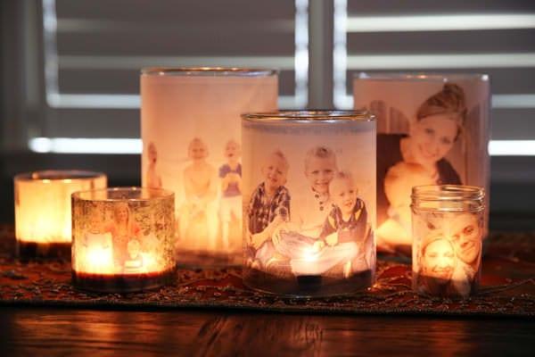 DIY: Lumânări și fotografii