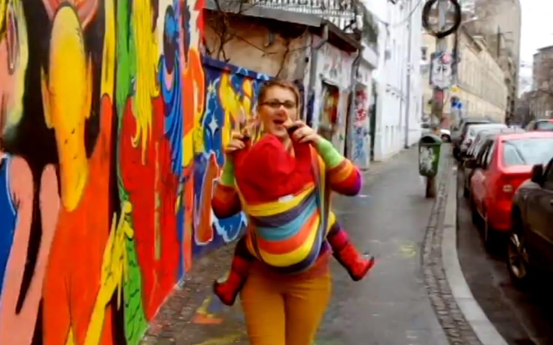 Pharrell's Happy – Happy Babywearing in Bucharest
