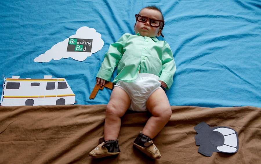 Ce se întâmplă când îți îmbraci bebelușul în diferite personaje de la TV