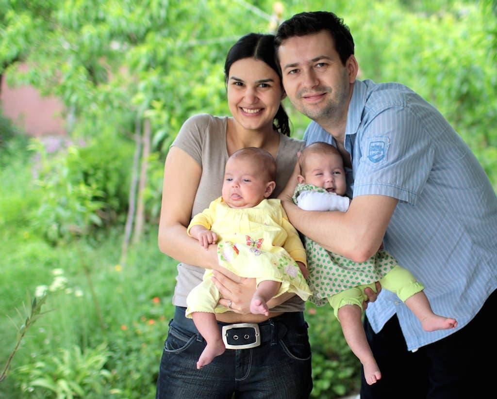 mara coman & family