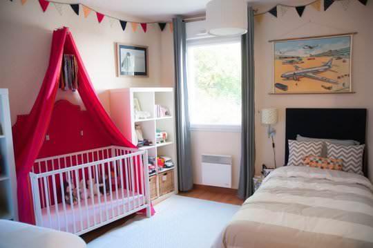 Dormitoare frumoase pentru mai mulți copii