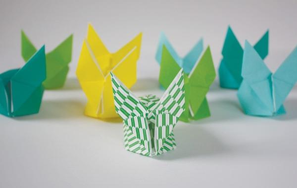 Cum faci iepurași din hârtie? Origami stuff
