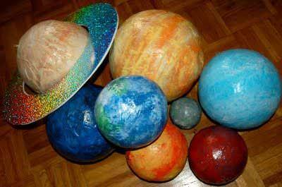 DIY: Cum faci planete din baloane și hârtie