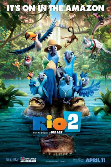 La cinema pentru copii: filmul Rio 2