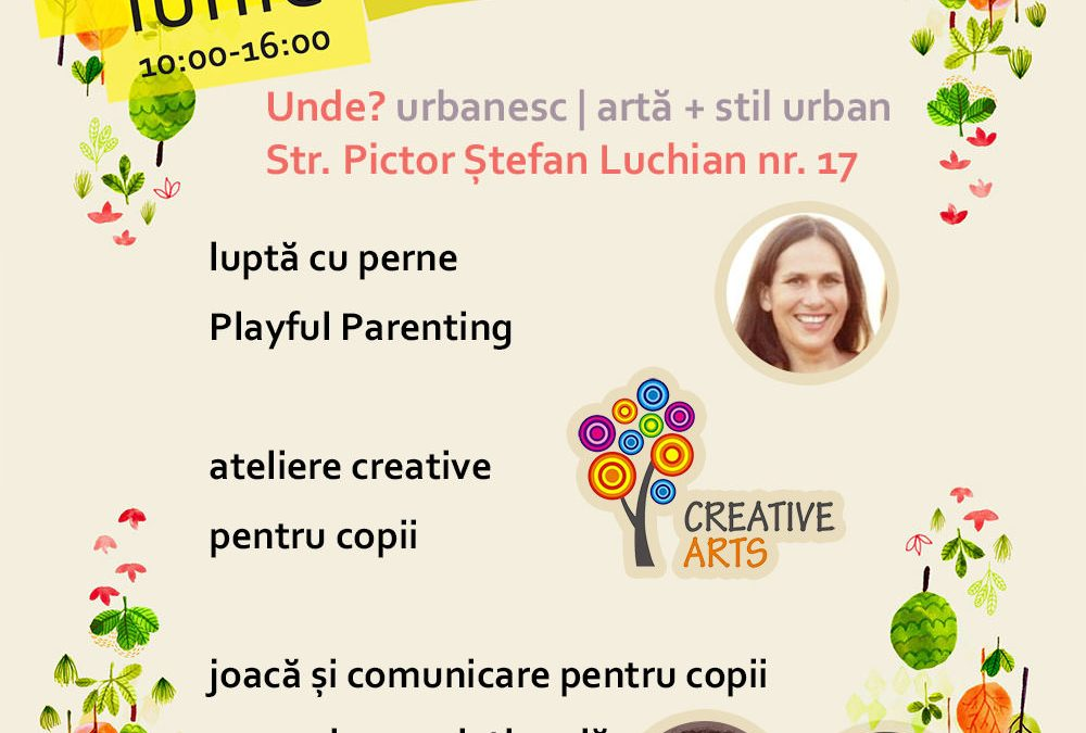 Playdate Urbankid @ Urbanesc – pe 14 iunie
