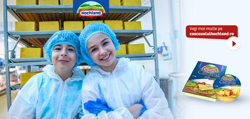 copiii in fabrica hochland