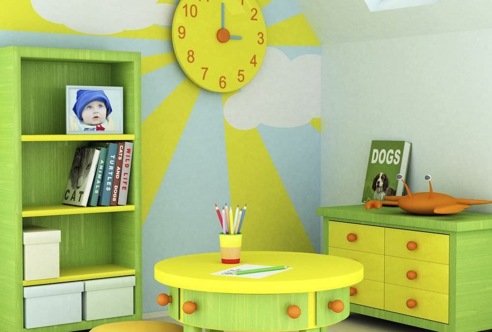 5 modalități prin care puteți înveseli camera copiilor