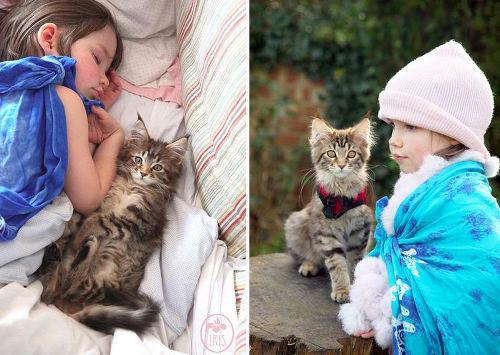 Terapie pentru copii, cu un animal de companie