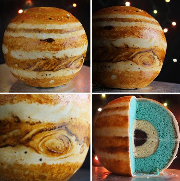 Cum faci un tort planetă?