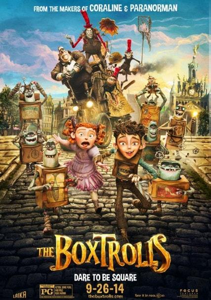 Film pentru familie în cinema: Boxtroli