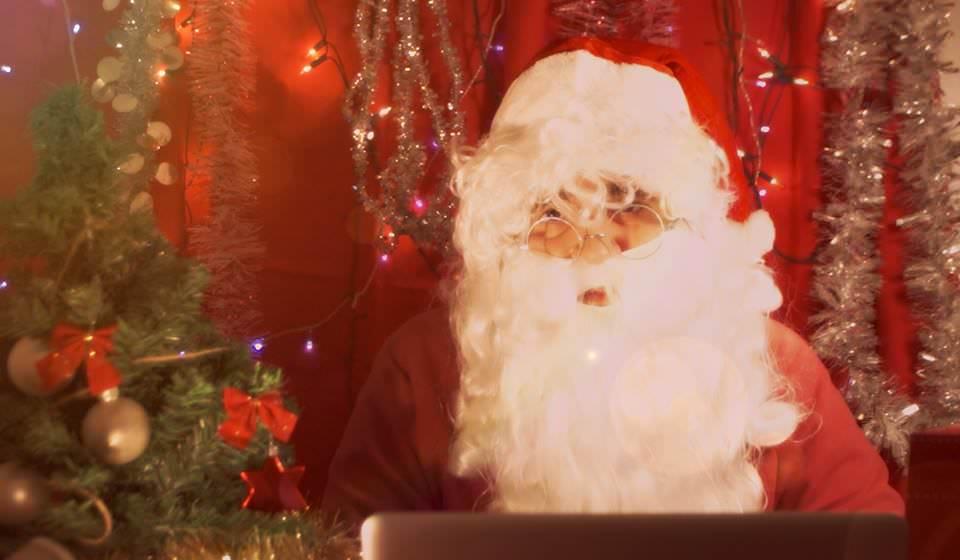Mesaje video, în română, de la Moș Crăciun