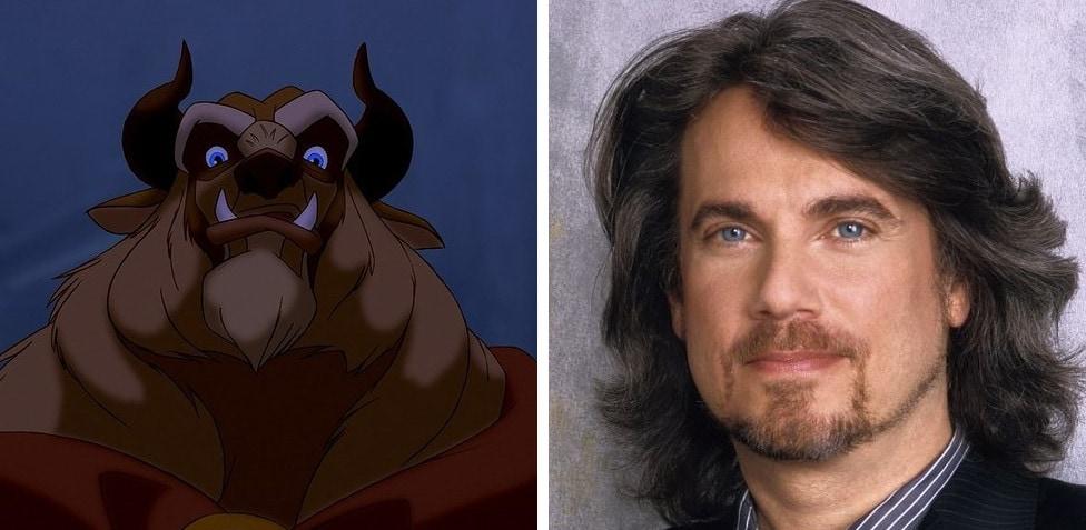 Vocile prinților din desenele Disney