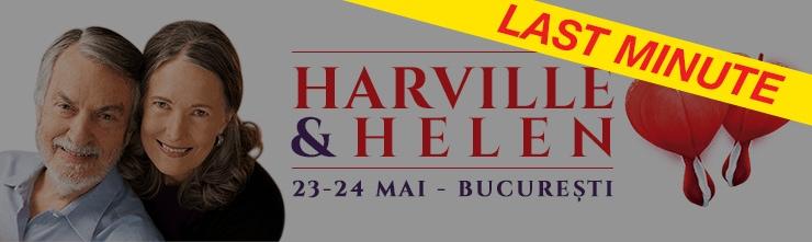 LAST MINUTE: Dr. Harville Hendrix și Dr. Helen LaKelly Hunt