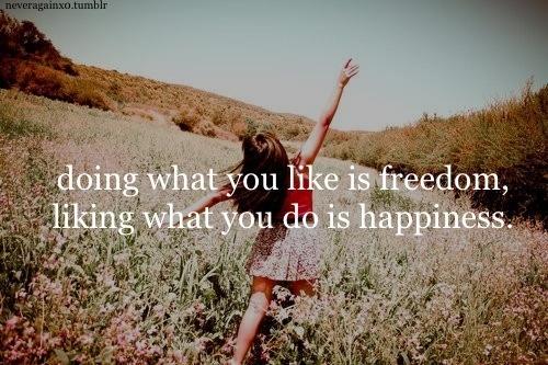 Cum ar fi dacă toți am face ceea ce ne place?