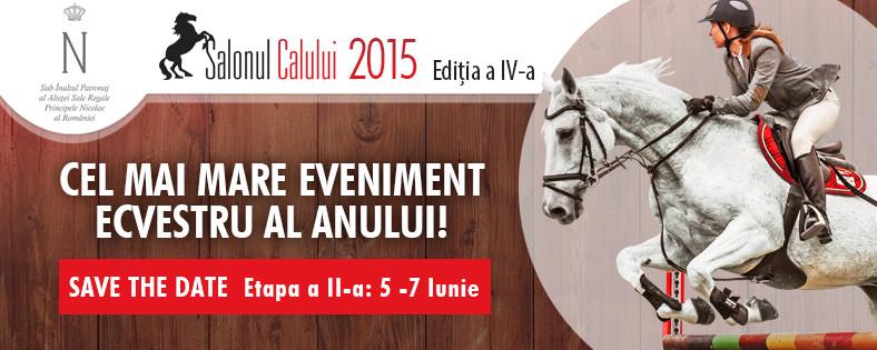 Salonul Calului  – etapa a 2-a: 5-7 iunie