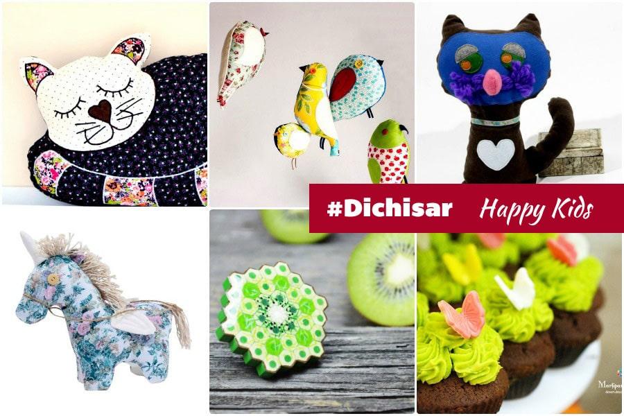 Pernuta pisica, Decochic | Pasari textile, Molcush | Pisica & calut Casuta cu cerdac | Bijuterie din creioane colorate, Abru | Briose martipan, Martipan creativ